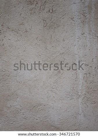 Gray concrete wall - stock photo