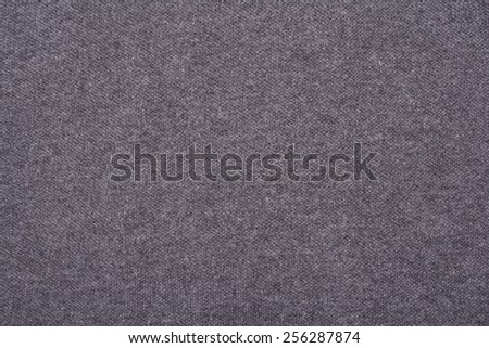 Gray cotton fabric texture background. - stock photo