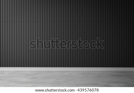 gray 3d wall interior room 3d rendering background