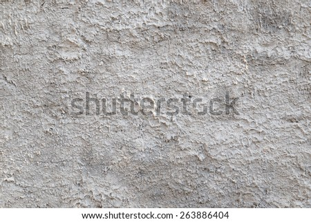 Gray decorative plaster as a background - stock photo
