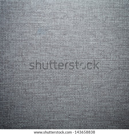 Gray Fabric Texture - stock photo