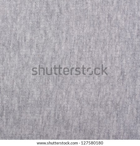 Gray Fabric Texture, Background, Pattern - stock photo