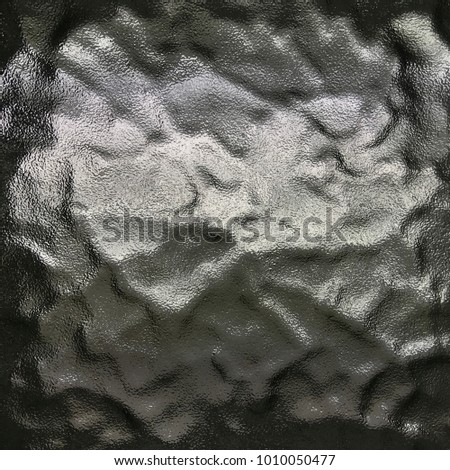 gray glass for background and texture.Interior concept. crystal texture background floor decorative.