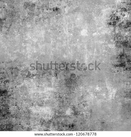 Gray grunge background - stock photo