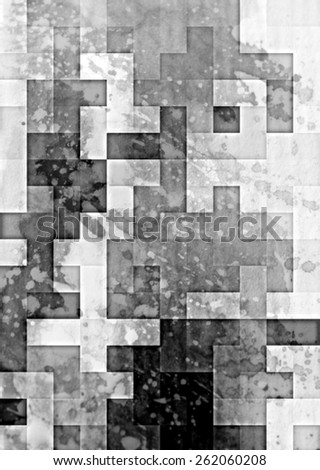 gray Highly detailed grunge abstract textured collage design ,background or texture  - stock photo