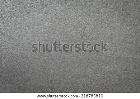 gray leather background or texture - stock photo