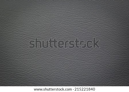 Gray leather texture background - stock photo