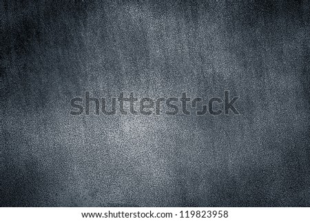 Gray metal plate background texture. Dark edged - stock photo