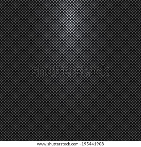 gray or black background with rhombus pattern and light source