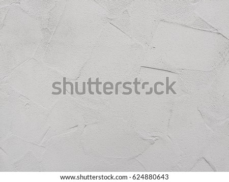 Gray or Grey White Grunge Cement Background Texture or Silver color background texture. Idea for Wall in house or Wallpaper or Tiles floor.