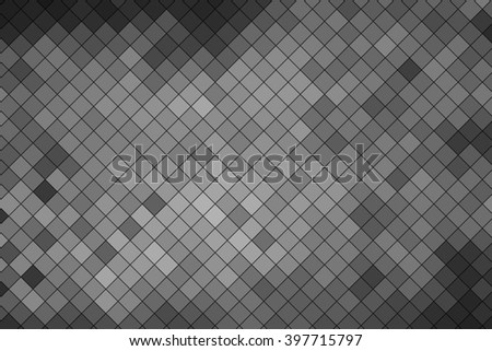 Gray polygonal illustration, which consist of triangles. Triangular design for your business.