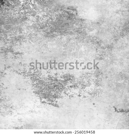 Gray scratched grunge background - stock photo