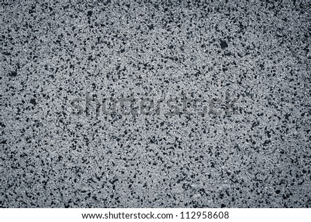 Gray small granite stone background - stock photo