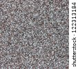 Gray small granite stone floor background - stock photo