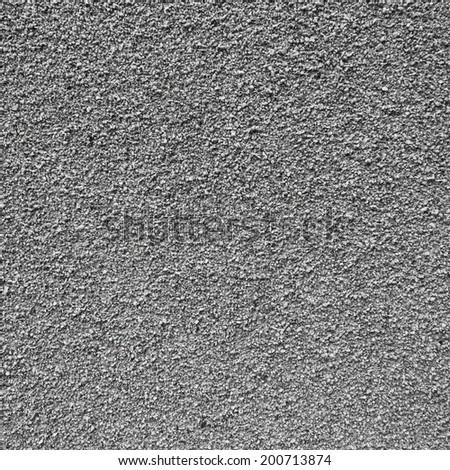 Gray small granite stone floor background texture - stock photo