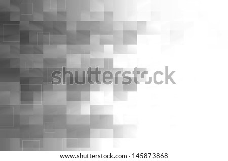 gray square abstract background  - stock photo