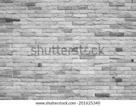 Gray stone wall background - stock photo