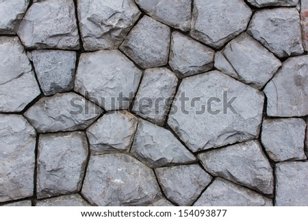 Gray stone wall texture background