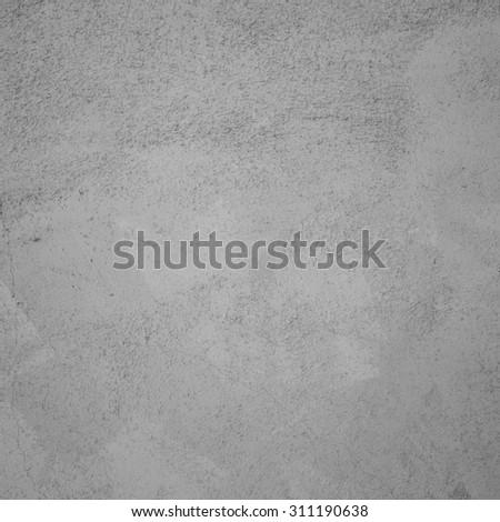Gray stucco texture - stock photo