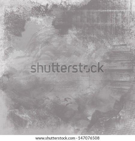 gray textured background - stock photo