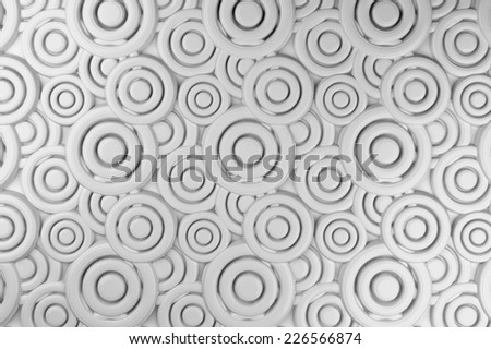 Gray tile abstract 3d background