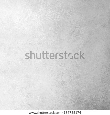 gray white background with gradient color and distressed vintage texture, soft off-white neutral background, old white paper - stock photo