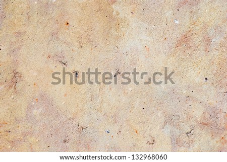 gray, yellow-red plaster texture - stock photo