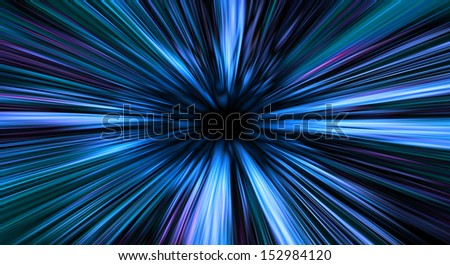greased bright multi-colored abstract background, futuristic illustration - stock photo