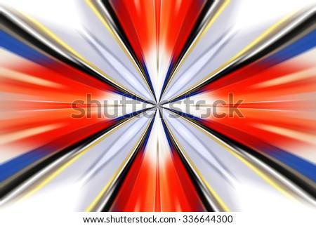 greased bright multi-colored abstract background, futuristic illustration - stock photo