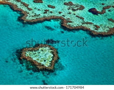Great Barrier Reef Australia - stock photo