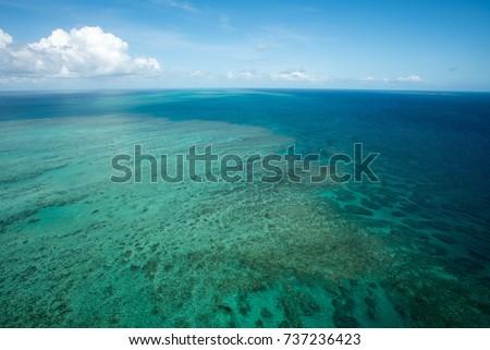 Great Barrier Reef near Cairns, Queensland, Australia