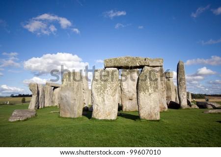 great britain, london/stonehenge/ - stock photo
