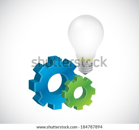 great business ideas concept illustration design over a white background - stock photo