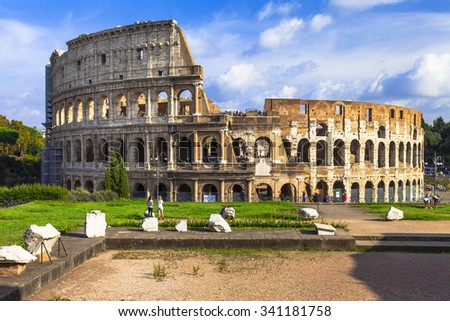 Great Colosseum, Rome - stock photo