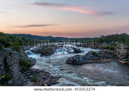 Great Falls - Virginia side