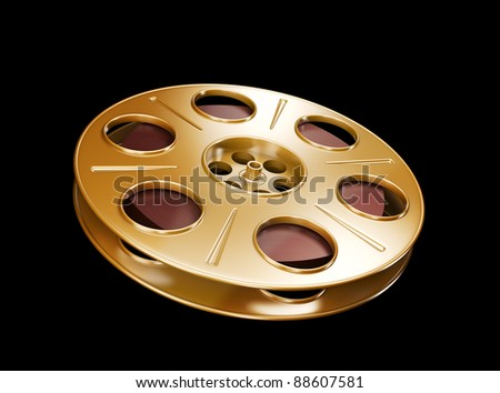 Great for cinema concept. - stock photo
