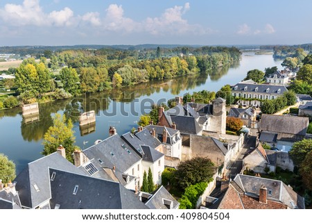 Great heritage castles along the Loire Valley