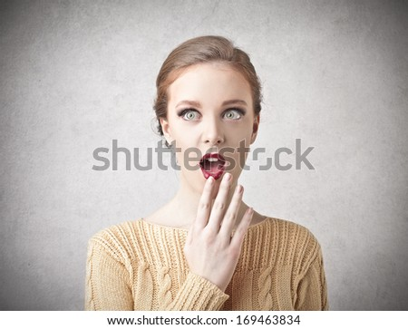 Great Make Up - stock photo