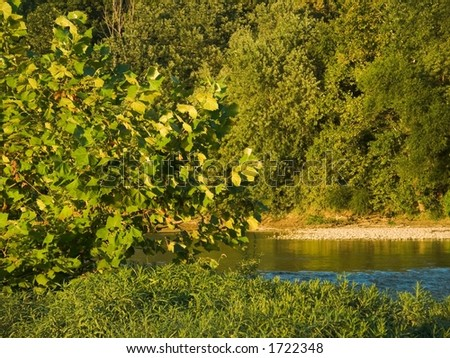 Great Miami River - stock photo