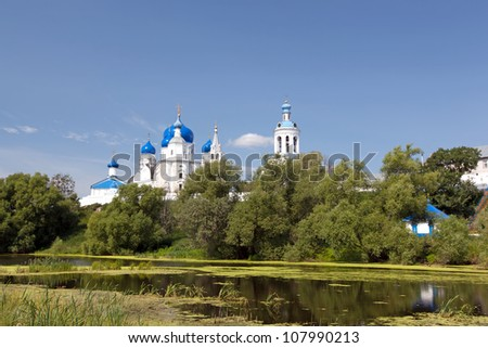 Great monasteries of Russia. Ortodox monastery in Bogolubovo