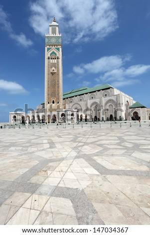 Great Mosque Hassan II in Casablanca, Morocco, North Africa