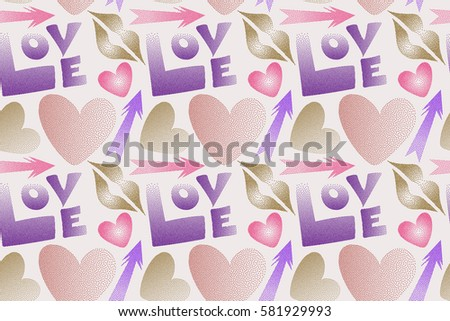 great multicolored print poster cards textile stock illustration