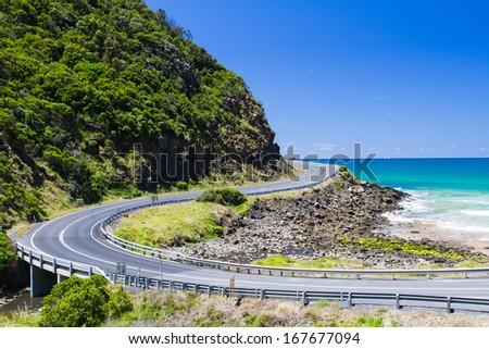 Great Ocean Road, Victoria, Australia - stock photo