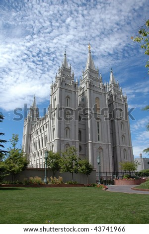 Great Temple in Salt Lake City