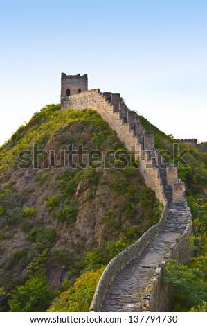 Great Wall - stock photo