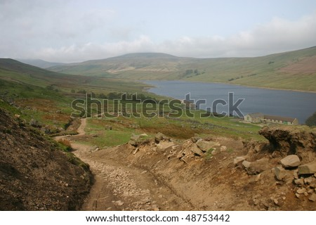 Great Whernside and Angram Reservoir, Nidderdale, Yorkshire