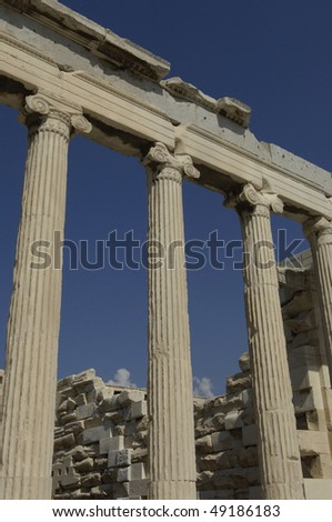 Greece, Athens, Erechtheion