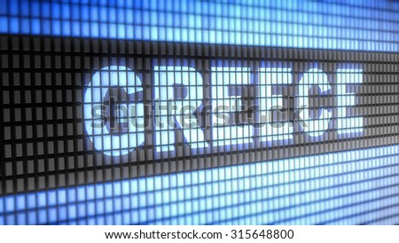 Greece. Proportion 16:9