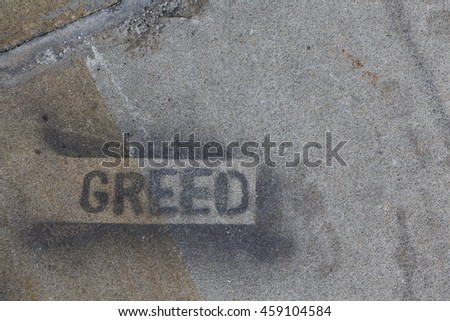 Greed Grunge Concrete Texture - stock photo