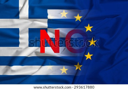greek and european union as symbol of crisis in europe